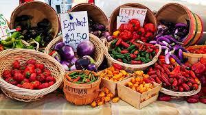 farmers market in Devon image